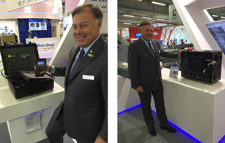 Marvin Test Solutions demonstrates test equipment commonality, armament test solutions at FIA