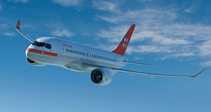 Swiss business jet firm PrivatAir orders five Bombardier CS100 airliners and five options
