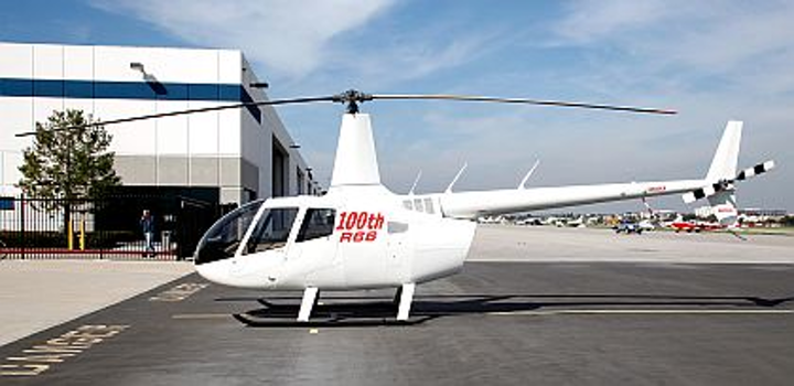 Robinson rolls 100th R66 Turbine helicopter off company assembly line, with orders for at least 280 more