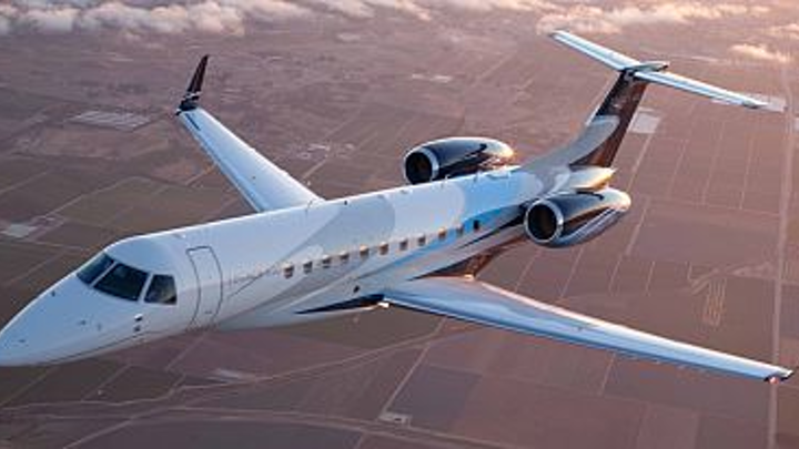 Embraer adds Legacy 650 business jet to line of general aviation jet aircraft certified in India