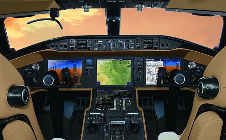 Bombardier delivers first Vision Flight Deck avionics on company's Global 6000 business jet for enhanced situational awareness