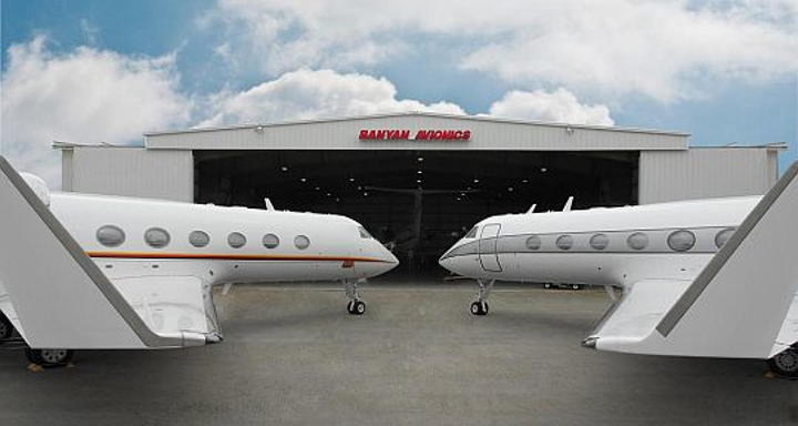 Banyan Air Services FBO enables Gulfstream business jets to transmit avionics health data wireless to ground personnel