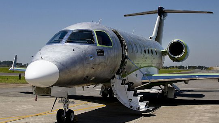 Embraer moves ahead with project to develop Legacy 500 business jet with high-speed taxi tests; first flight this fall