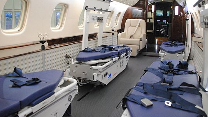 Jet Aviation Dusseldorf offers conversion of Embraer Legacy 600 business jets to medevac aircraft for four patients