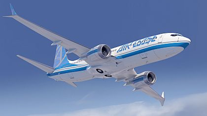 Boeing makes a splash in first day at Farnborough, taking orders and options for 100 737 MAX narrow-body jetliners