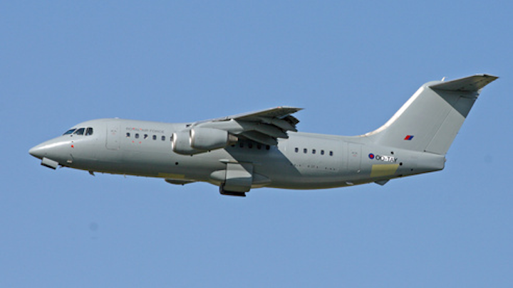 Hawker Beechcraft to convert two BAe 146-200QC aircraft for RAF passenger and freight service