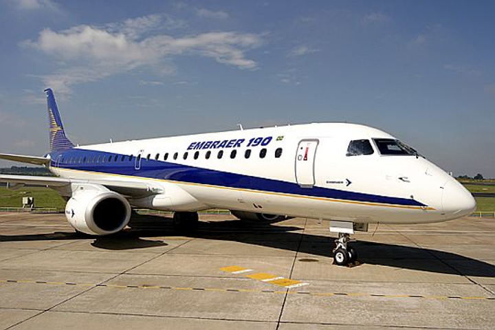 Embraer to sell six E190 regional passenger jets and 14 options to Venezuelan carrier Conviasa Airlines