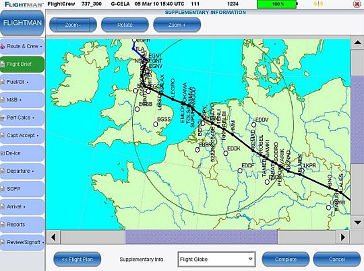 Regional airline Eurolot chooses electronic flight bag software applications from Flightman for class-I deployment