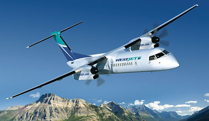 Canadian carrier WestJet firms up orders for Bombardier Q400 NextGen turboprops for future regional airline