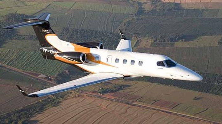 Embraer Phenom 100 business jet receives CAAC Chinese government certification to operate in China