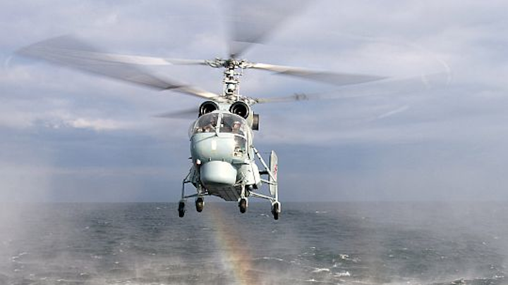 Russian Helicopters chooses glass-cockpit avionics from RDC to upgrade Ka-52 and Ka-52K military attack helicopters
