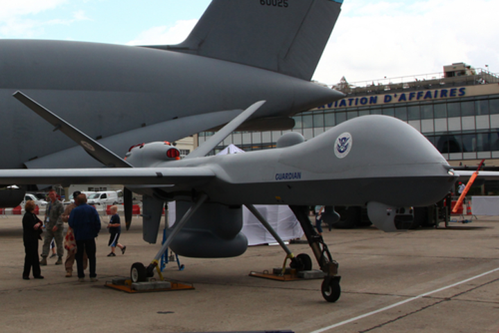 GA-ASI's Guardian RPA, a Predator B unmanned aerial vehicle configured for maritime operations