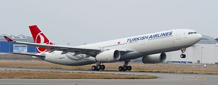 Turkish Airlines orders 15 Airbus A-330 widebody jetliners for long-haul trans-Atlantic and East Asia routes