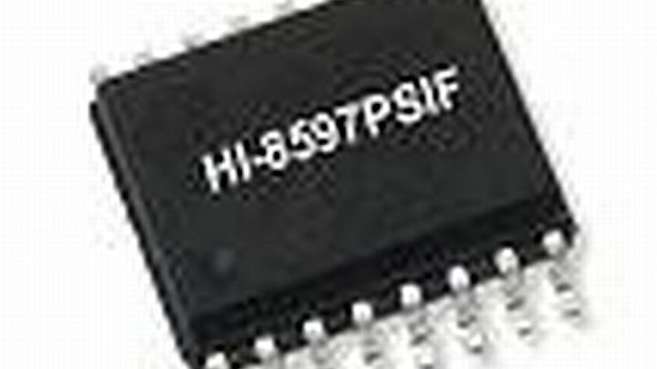 ARINC 429 avionics databus line driver that meets DO-160G Level 3 pin injection waveforms introduced by Holt