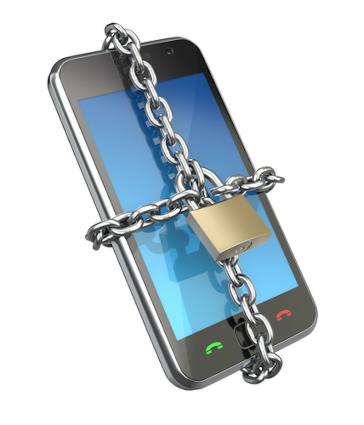 Smartphone data security
