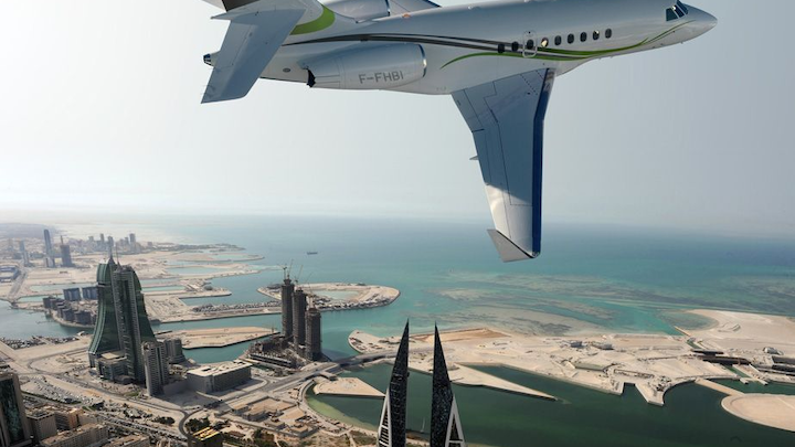 Middle Eastern private jet owners younger, spend more on planes
