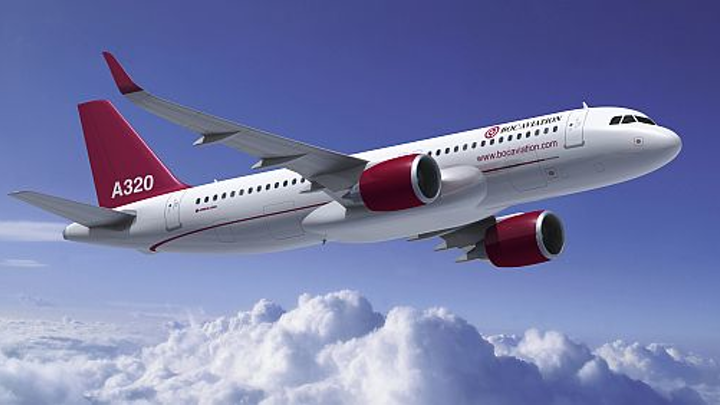 Aircraft leasing firm BOC Aviation orders 50 Airbus A320 passenger jets, including 25 next-generation A320neos