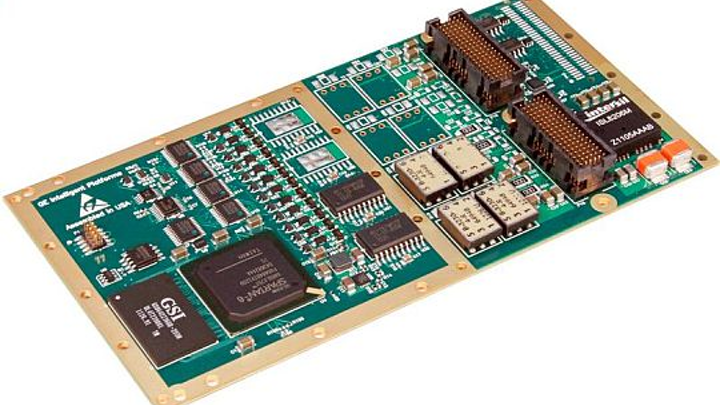Avionics multi-protocol I/O module for labs, flight simulators, and embedded computing introduced by GE