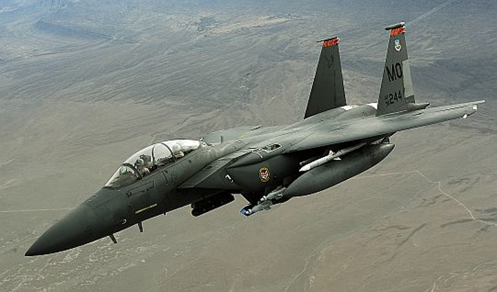 Air Force orders aircraft radio controller electronics from Rockwell Collins for Boeing F-15C/D jet fighter communications