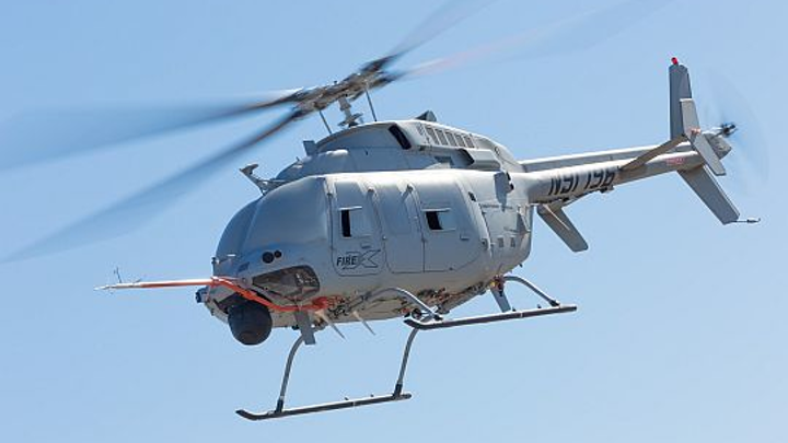 Bell Helicopter works with Northrop Grumman to deliver next-generation Fire Scout UAV with bigger payload, range