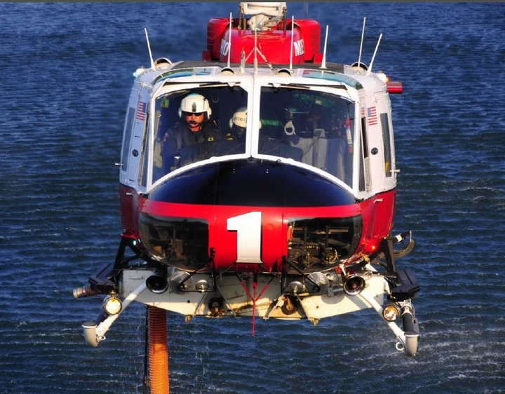 Sacramento Metro Fire upgrades UH-1 multimission helicopter