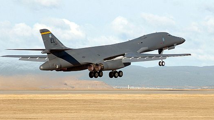 Electronic warfare components for Air Force B-1 strategic jet bomber to be repaired by engineers at Crane Microwave