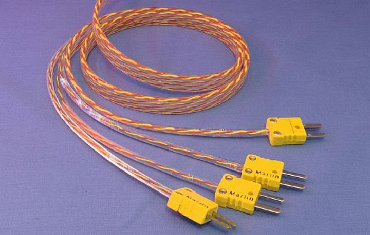Flexible thermocouple cables for continuous motion, tight routing, heat, and harsh conditions introduced by Cicoil