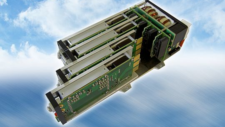 Fanless 800-Watt power supply for avionics, aerospace, military, and missile applications introduced by Gaia