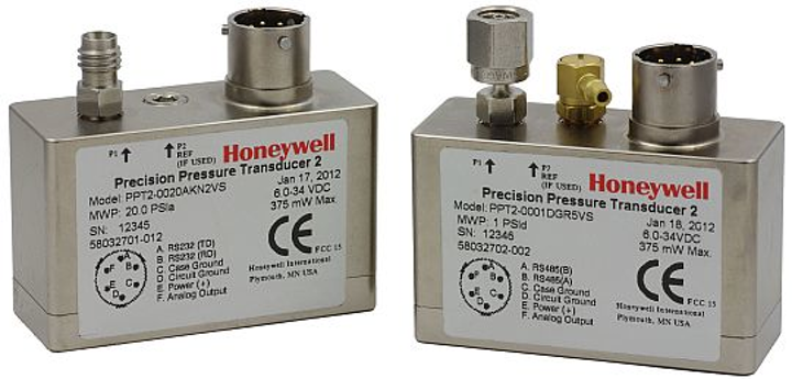 Pressure sensor for avionics, test and measurement, and meteorology applications introduced by Honeywell