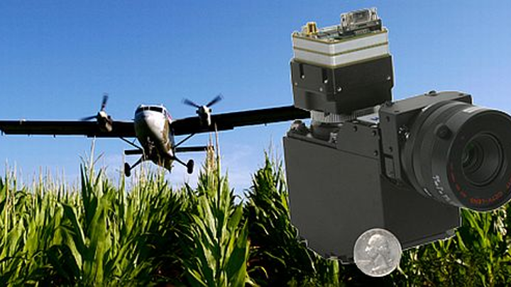Hyperspectral sensor payload for unmanned aerial vehicles and manned aircraft introduced by Headwall Photonics