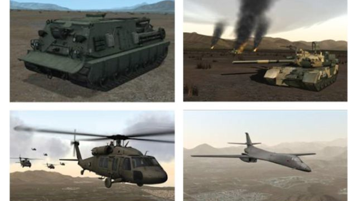 Simthetiq delivers high-end 3D visual models for Fidelity next-gen training solutions