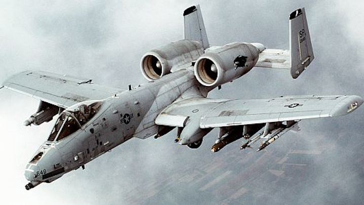 Air Force chooses flight-line test and measurement equipment from Marvin Test for A-10C close-air-support jet avionics