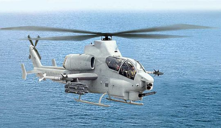 Lockheed Martin received additional order to provide electro-optical sensors for Marine Corps AH-1Z Cobra attack helicopters