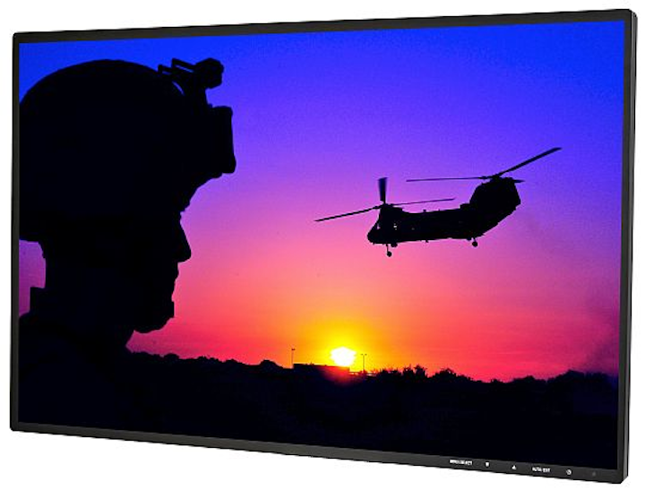 Rugged, sunlight-readable LCD flat-panel displays for military, avionics, and law enforcement introduced by TRU-Vu