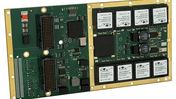 MIL-STD-1553 Express Mezzanine Card for avionics and embedded computing uses introduced by DDC