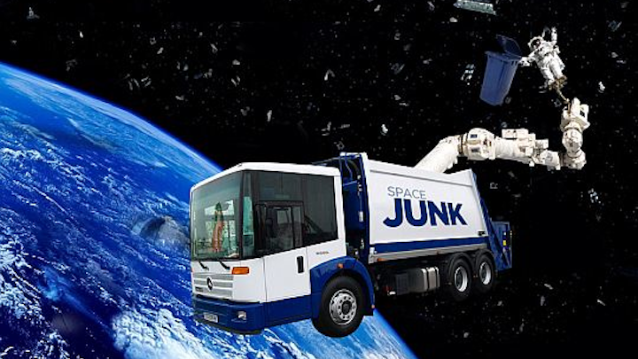 Lockheed Martin to help track and catalog space junk to help prevent collisions between spacecraft and debris