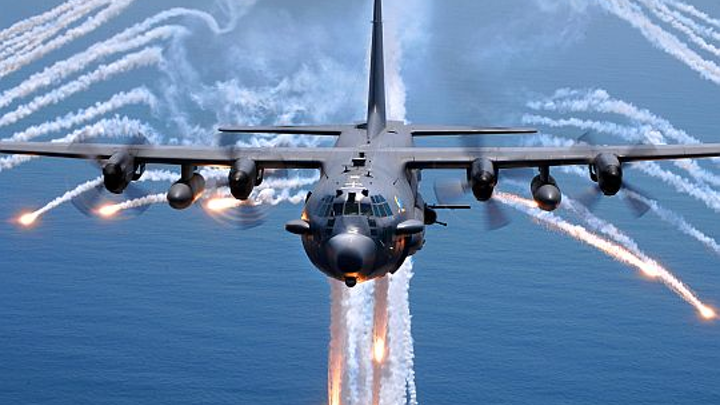 Air Force AC-130U Spooky special-ops aircraft gunship to receive rugged network switches from Crystal Group