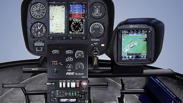 Robinson offers glass-cockpit avionics in light helicopters in move away from mechanical-only instruments