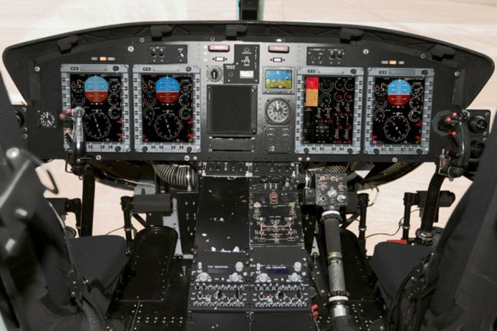 SENER-INAER selects Astronautics MFDS for Spanish Navy upgraded AB-212 helicopter