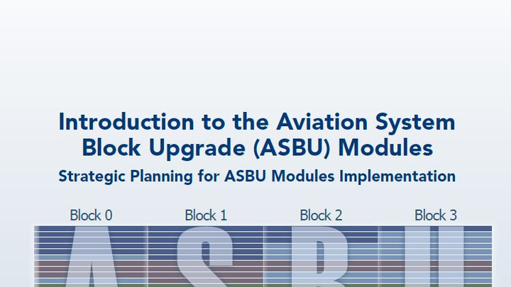 CANSO offers downloadable Introduction to Aviation System Block Upgrade Modules