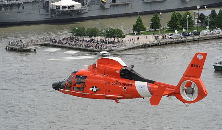 Coast Guard chooses RTA-4114 multiscan weather radar from Rockwell Collins for future MH-65E utility helicopters