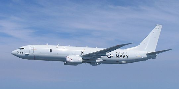 Navy makes new order for 16 Boeing P-8A maritime patrol jets in $2.1 billion deal; starts full-rate production