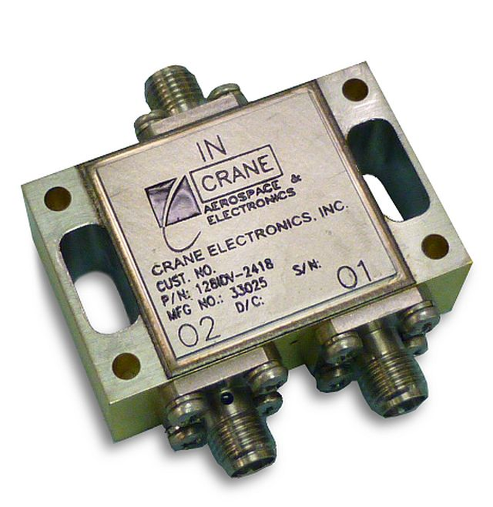 Crane Aerospace & Electronics Microwave Solutions launches Ku-band Iso-Divider product line for space applications
