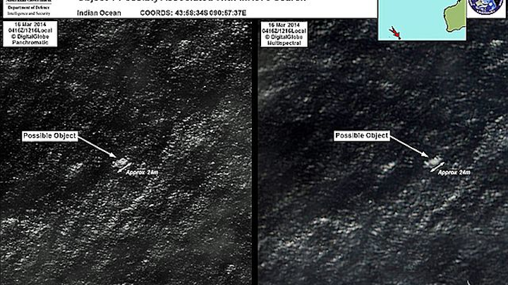 Malaysian Airlines search, satellite imagery brings military aircraft to Indian Ocean