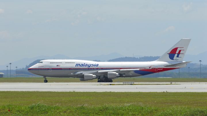 Boeing statement on Malaysia Airlines Flight 370