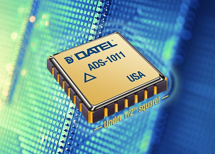 Rugged, rad-hard 10-bit A/D converter introduced by DATEL for avionics, space, and military applications