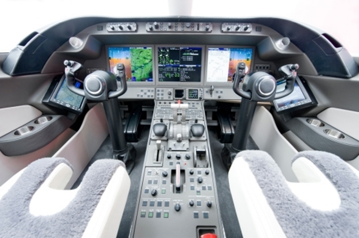 Bombardier Learjet 85 achieves first flight with Rockwell Collins Pro Line Fusion avionics