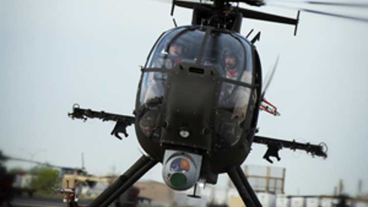 Boeing AH-6i light helicopter flies, moves closer to full-scale production
