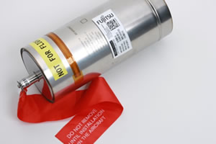 Airbus selects Fujitsu RFID integrated label technology for management, traceability of aircraft parts