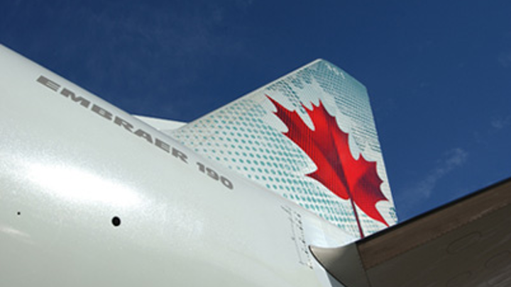 Air Canada selects Premier Aviation to maintain Embraer E-190 aircraft fleet